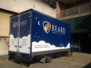 A H Beard Corrugated Truck